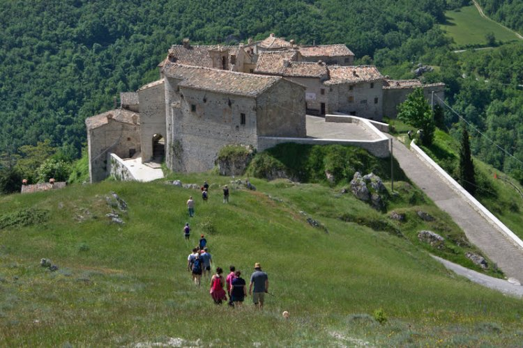 Elcito: the Tibet of the Marche