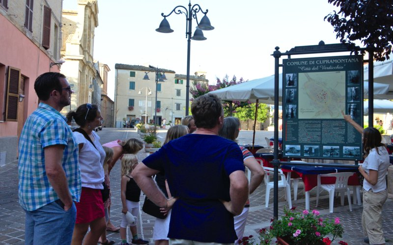 Cupramontana: Guided tour of the historic center